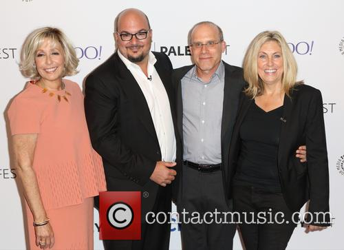 Carol Mendelsohn, Anthony E. Zuiker, Jonathan Littman and Ann Donahue 1