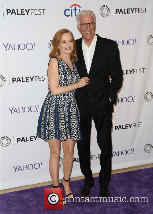 Marg Helgenberger and Ted Danson 2