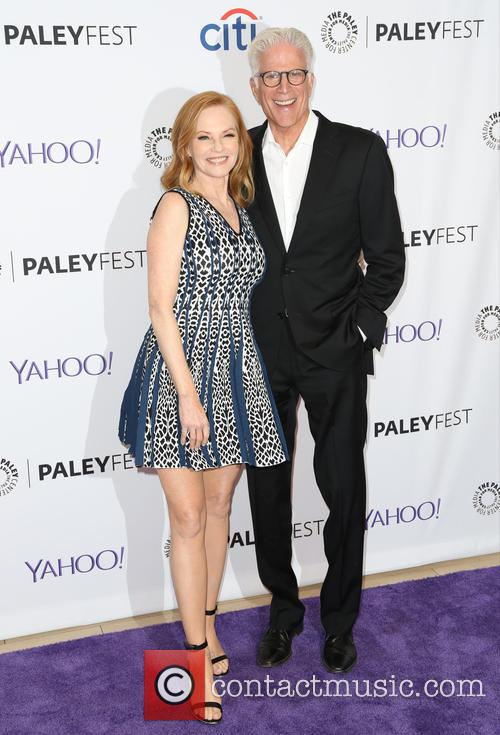 Marg Helgenberger and Ted Danson 3