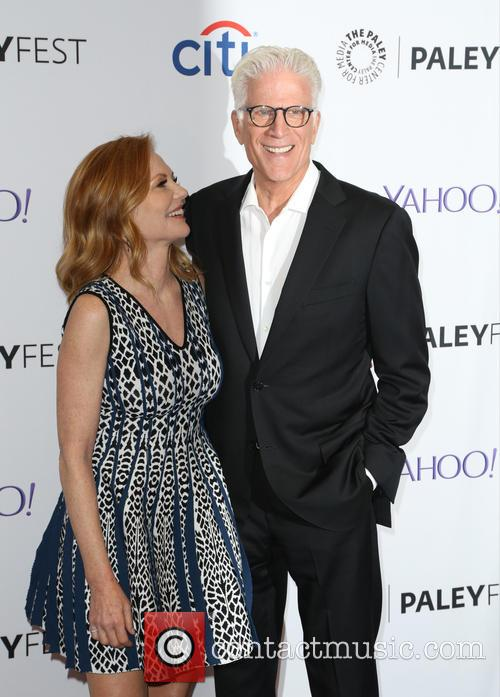 Marg Helgenberger and Ted Danson 4