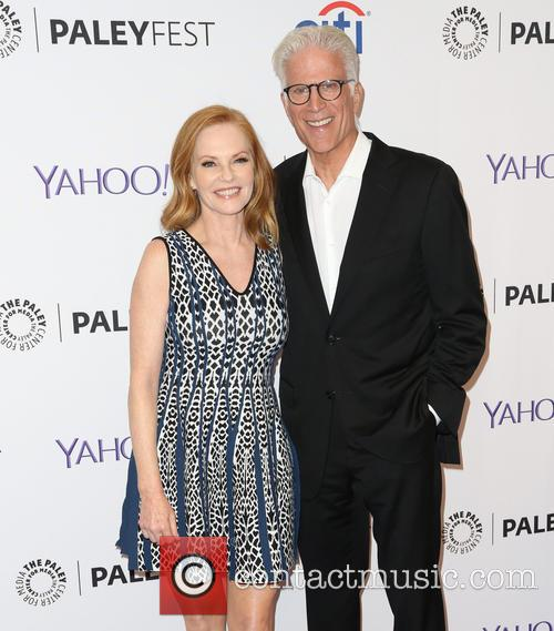 Marg Helgenberger and Ted Danson 7