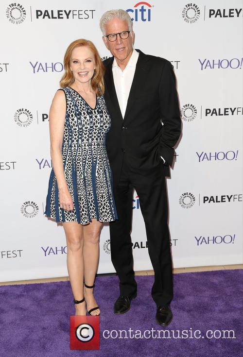 Marg Helgenberger and Ted Danson 9