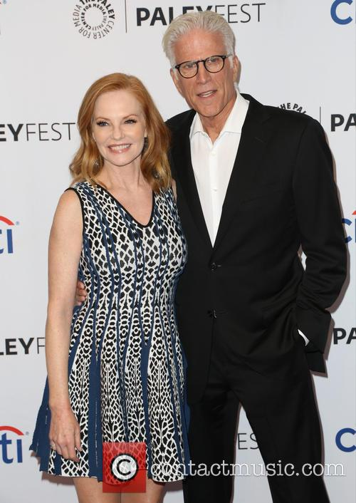 Marg Helgenberger and Ted Danson 10