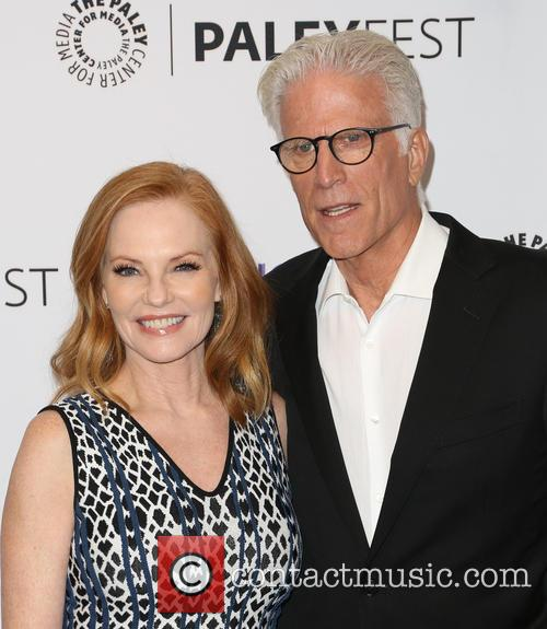 Marg Helgenberger and Ted Danson 1