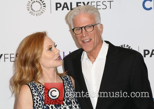 Marg Helgenberger and Ted Danson 11