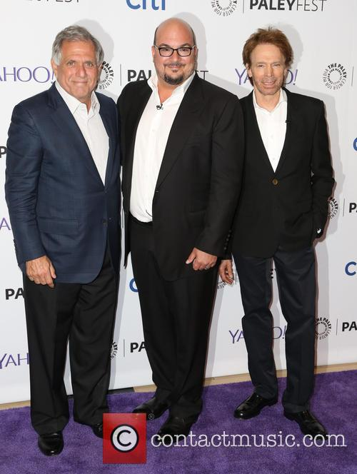 Les Moonves, Anthony E. Zuiker and Jerry Bruckheimer 2