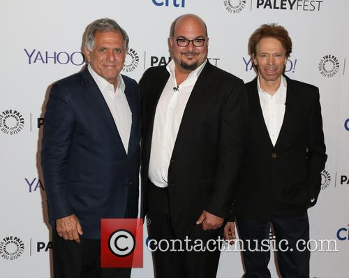 Les Moonves, Anthony E. Zuiker and Jerry Bruckheimer 3