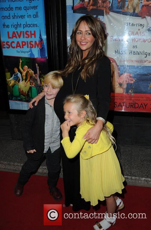 Samia Ghadie, Daughter Freya and Nephew 1