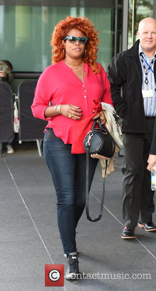 Kelis at the BBC Breakfast studios