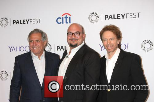 Les Moonves, Anthony E. Zuiker and Jerry Bruckheimer 1