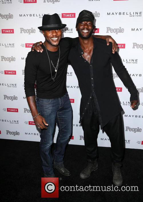 Edwin Hodge and Aldis Hodge 2