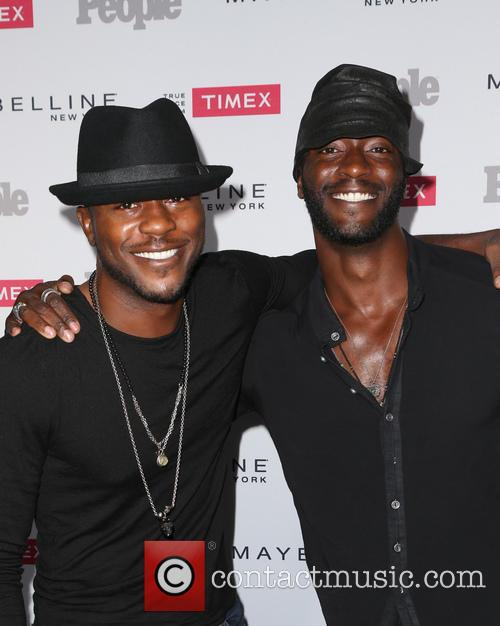 Edwin Hodge and Aldis Hodge 1