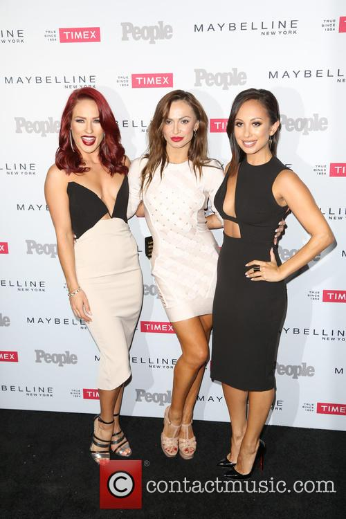 Sharna Burgess, Karina Smirnoff and Cheryl Burke 1