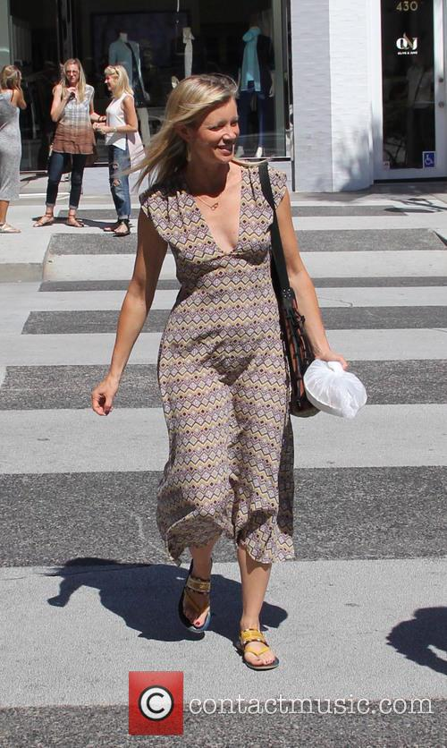 Amy Smart out shopping in Beverly Hills