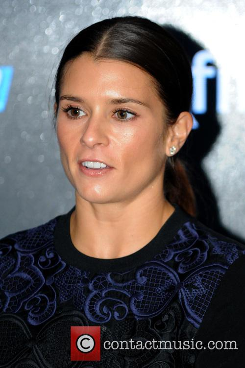 Danica Patrick signs autographs at the NASCAR Xfinity...