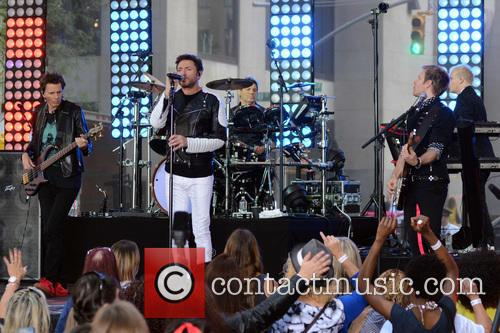 Duran Duran performing live on NBC's Today show