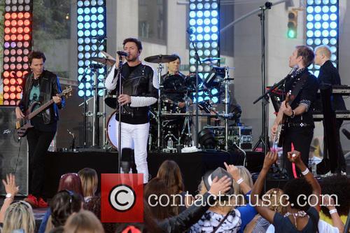 Duran Duran, Simon Le Bon, Nigel John Taylor and Nick Rhodes 1