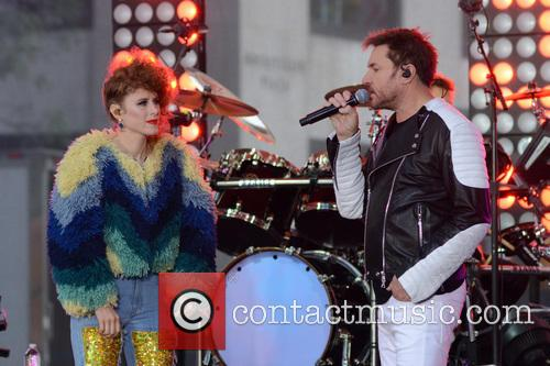 Duran Duran and Simon Le Bon 2
