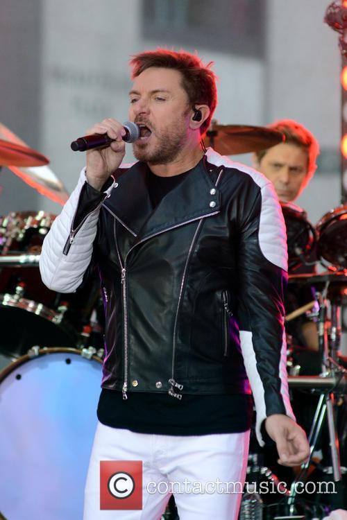 Duran Duran and Simon Le Bon 5