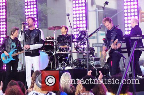 Duran Duran, Simon Le Bon, Nigel John Taylor, Nick Rhodes and Roger Taylor 1
