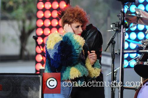 Kiesza, Simon Lebon and Simon Le Bon