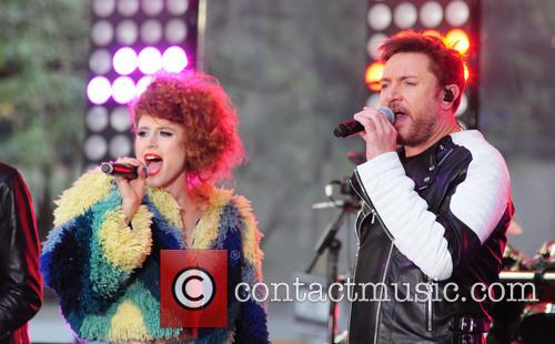 Kiesza and Simon Lebon 2