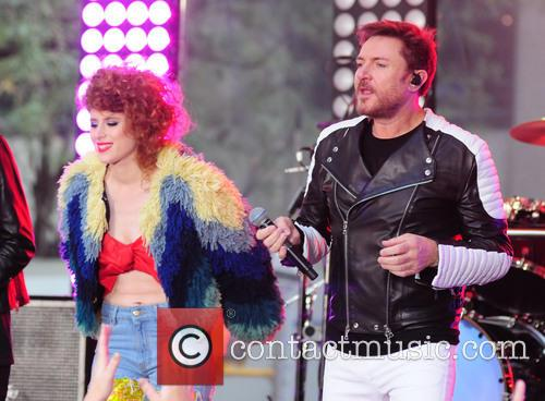 Kiesza and Simon Lebon 3