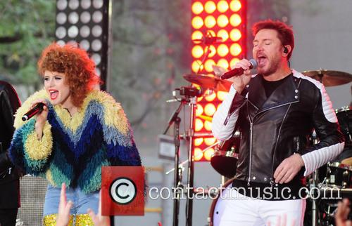 Kiesza and Simon Lebon 4