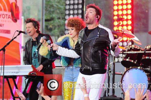 Kiesza and Simon Lebon 5