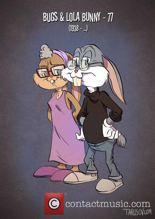 What Classic Cartoon Characters Would Look Like as...