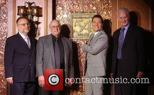 Richard Frankel, Steve Baruch, Michael Feinstein and Tom Viertel 1
