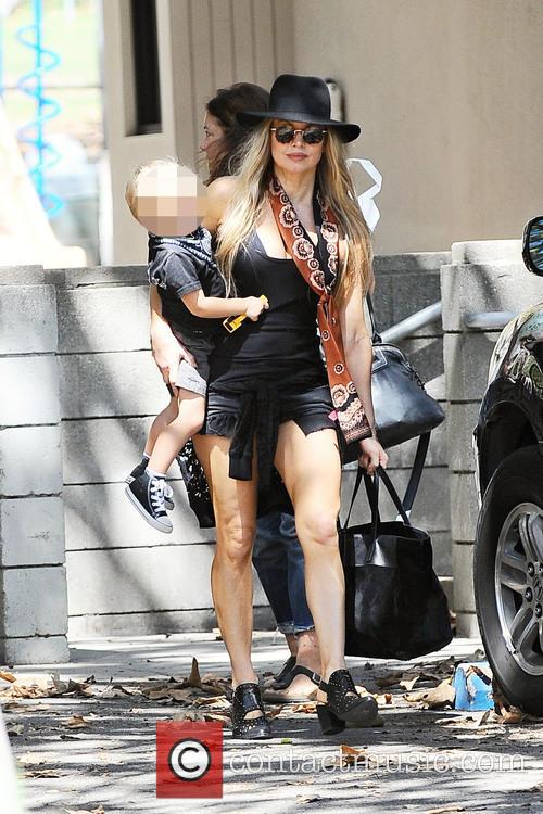 Fergie and Axl Jack Duhamel 2