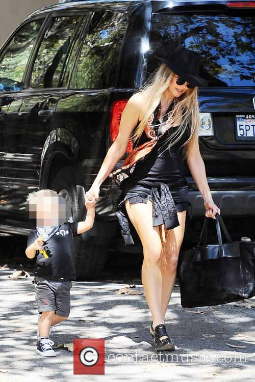 Fergie and Axl Jack Duhamel 3