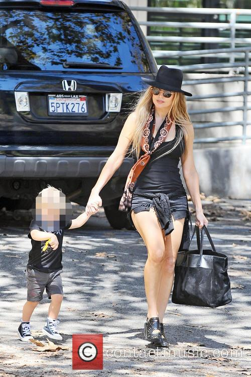 Fergie and Axl Jack Duhamel 4