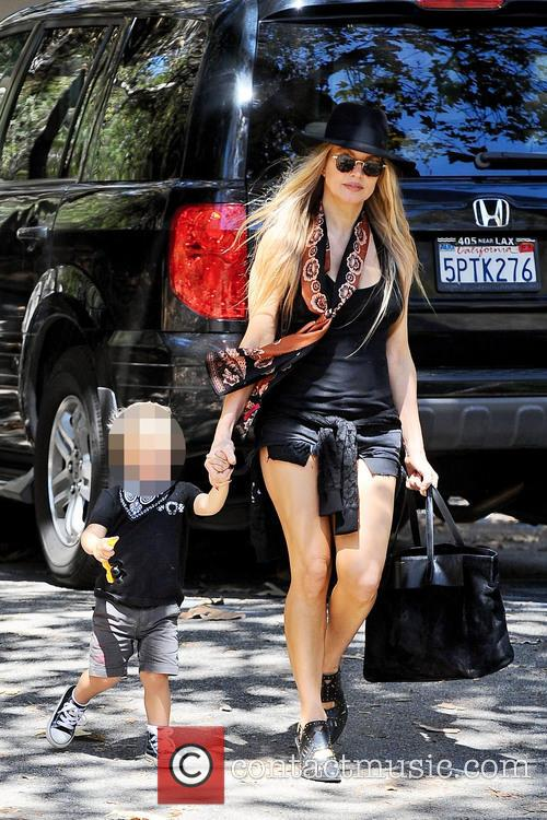 Fergie and Axl Jack Duhamel 6