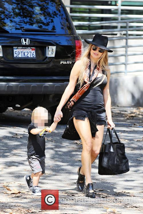 Fergie and Axl Jack Duhamel 7
