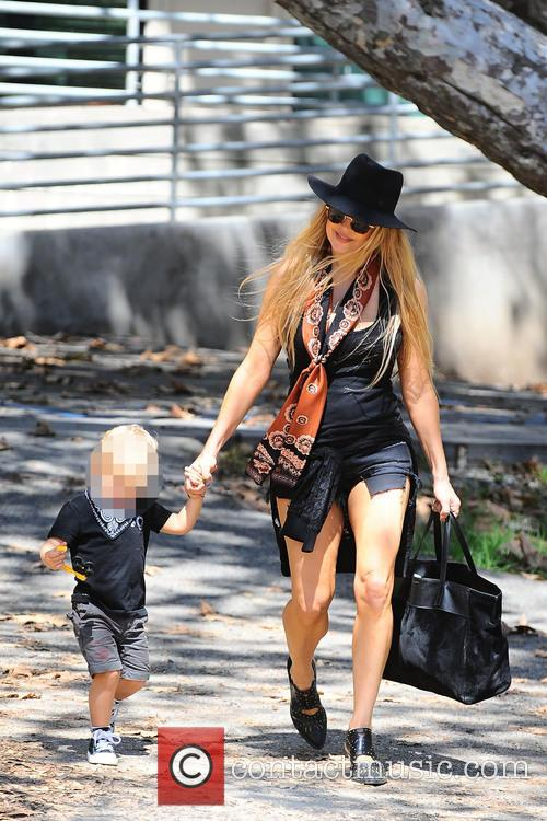 Fergie and Axl Jack Duhamel 9