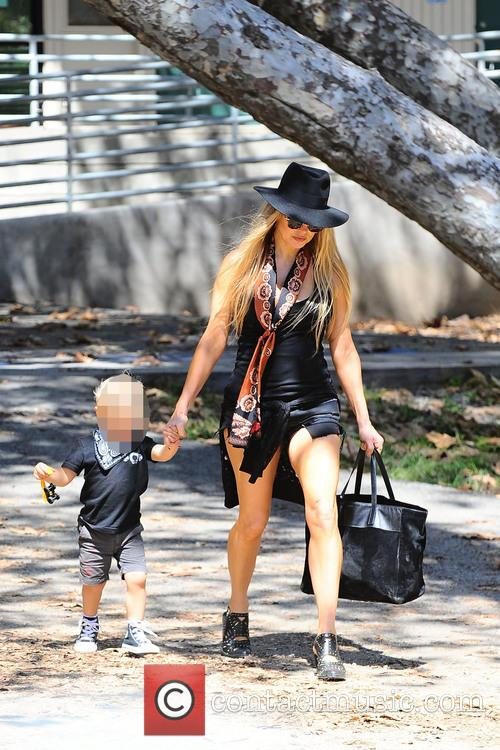 Fergie and Axl Jack Duhamel 11