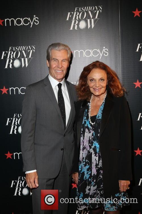 Terry Lundgren and Diane Von Fürstenberg 1