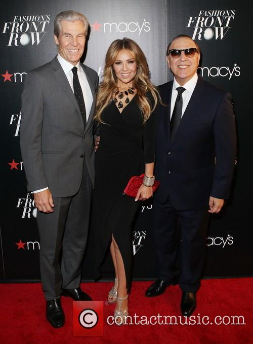 Terry Lundgren, ThalÍa and Tommy Mottola 2