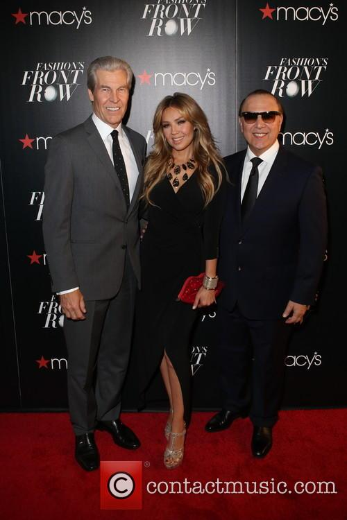 Terry Lundgren, ThalÍa and Tommy Mottola 1