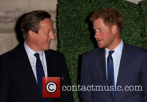 Prince Harry and David Cameron 1
