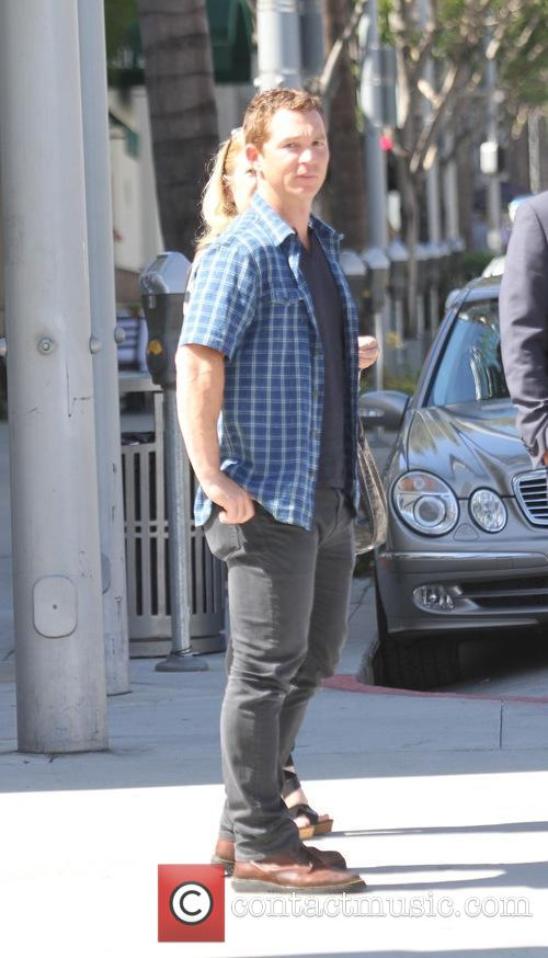 Shawn Hatosy out for lunch in Beverly Hills