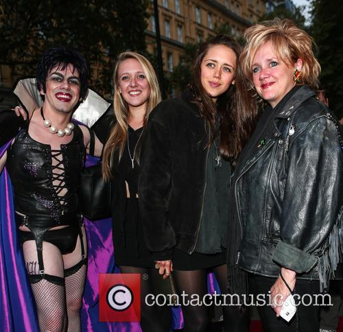 Emily Head, Daisy Head, Sarah Fisher and Frank N Furter 1