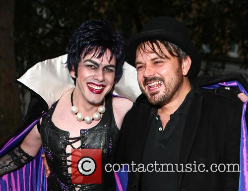 Rocky, Frank N Furter and Paul Cattermole 1