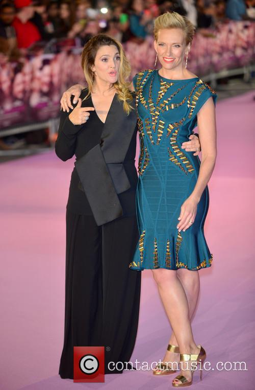 Drew Barrymore and Toni Collette 1
