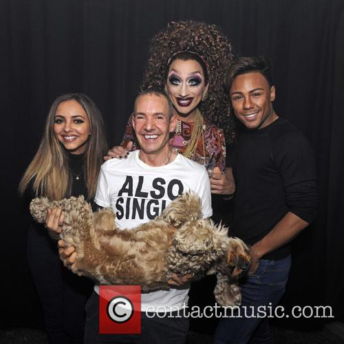 Jade Thirlwall, Marcus Collins, Bianca Del Rio and Jeremy Joseph 1