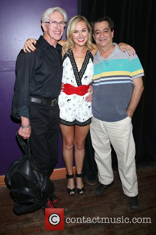 Marvia Laird, Laura Bell Bundy and Joel Paley 1