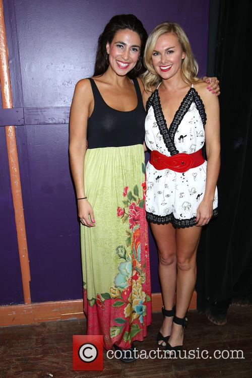 Kim Mareska and Laura Bell Bundy 1