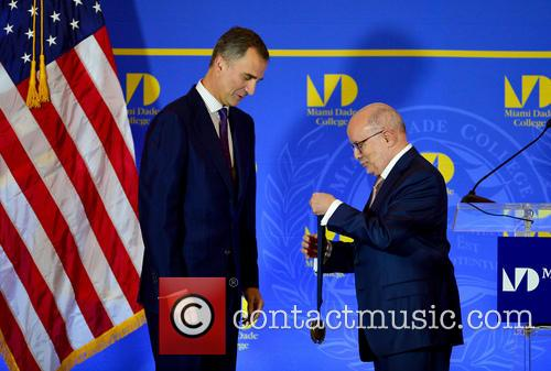 King Felipe Vi and Dr. Eduardo Padron 2